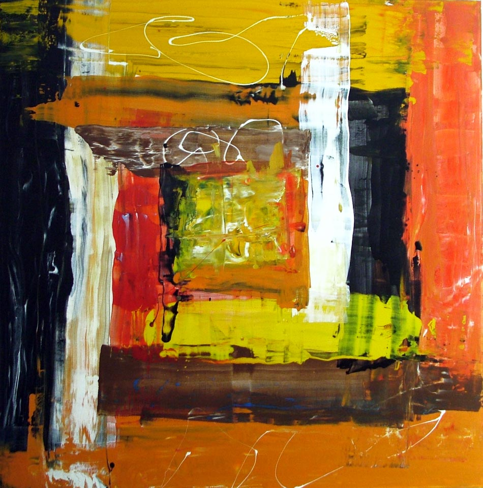 Modern Abstract Art Acrylic Paintings